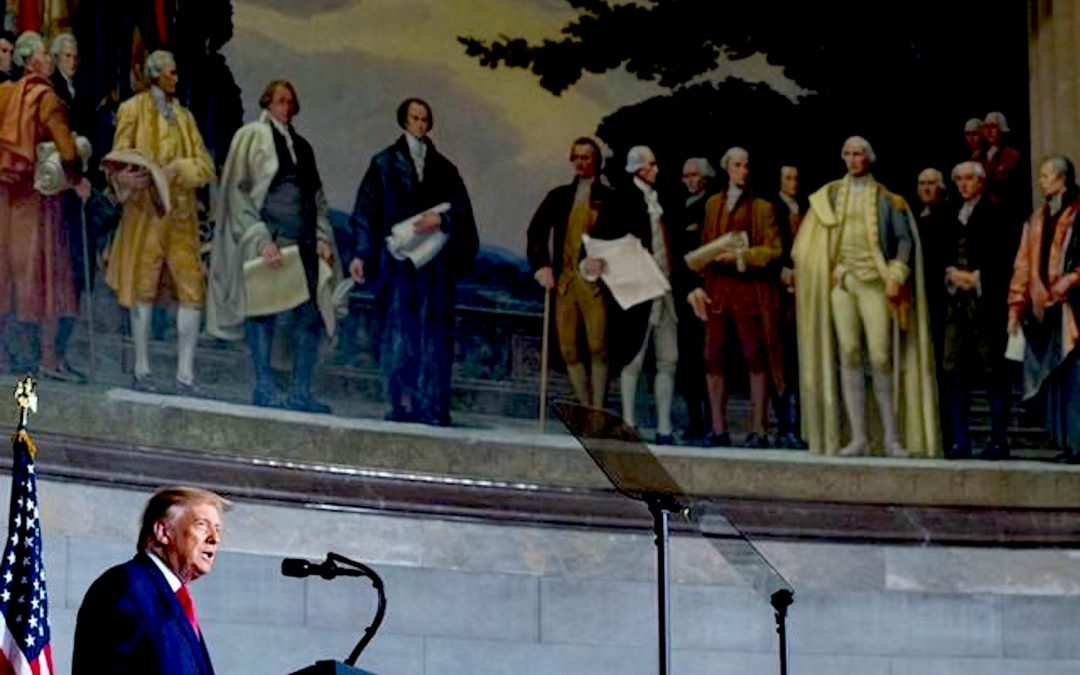 Constitution Day: Donald Trump Announces '1776 Commission' to Fight Left-Wing Indoctrination