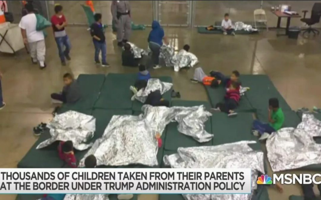Rachel Maddow Uses Photos of Immigrant Children Held in Cages During Obama Administration — While Blaming Trump