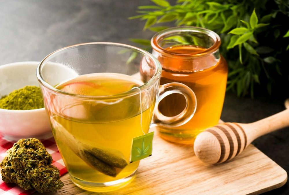 Learn how to make tea from one of the world's oldest superfoods: Cannabis