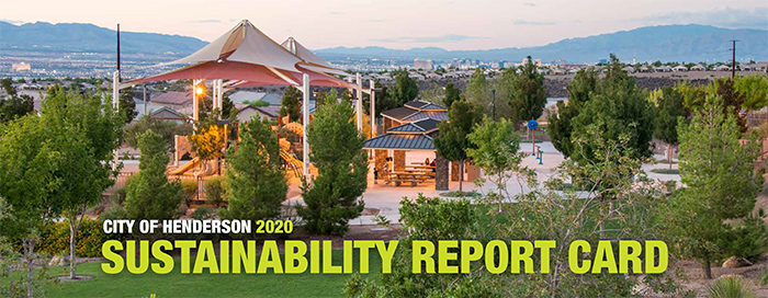 City of Henderson Highlights Progress and Successes in 2020 Sustainability Report Card