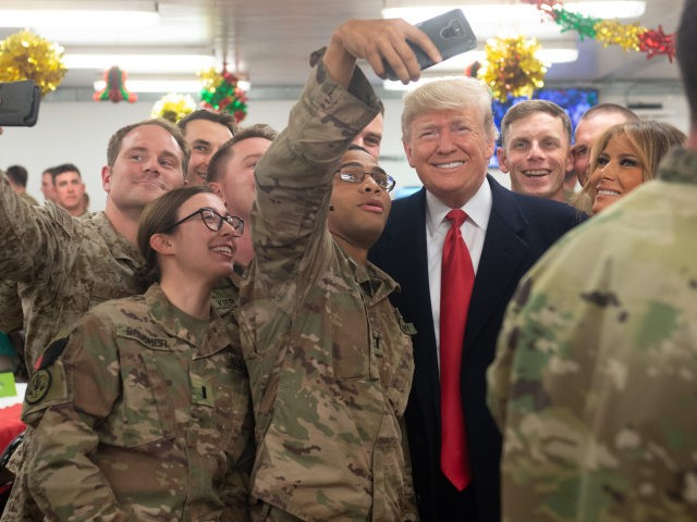Nearly 800 Military Family Members Sign Open Letter in Support of Trump