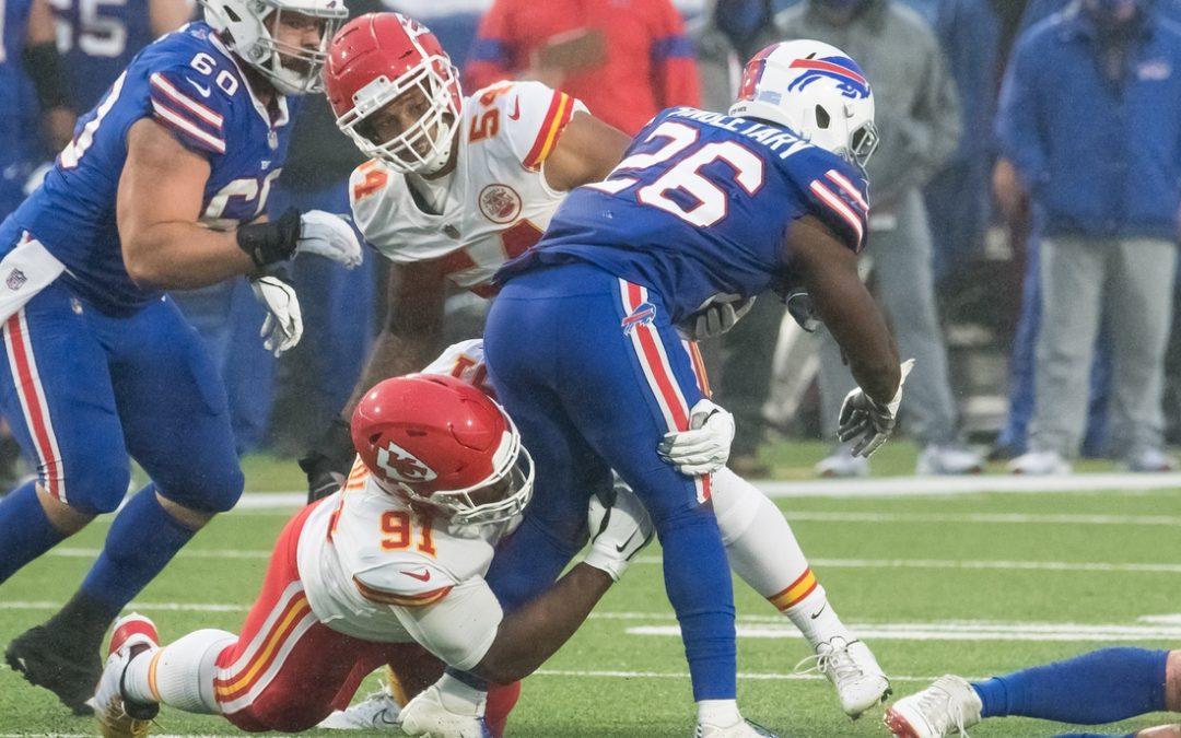 Edwards-Helaire, Chiefs run past Bills