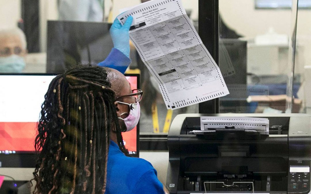Republicans sue Clark County over mail ballot counting