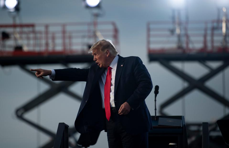 President Trump Calls Bidens An 'Organized Crime Family'