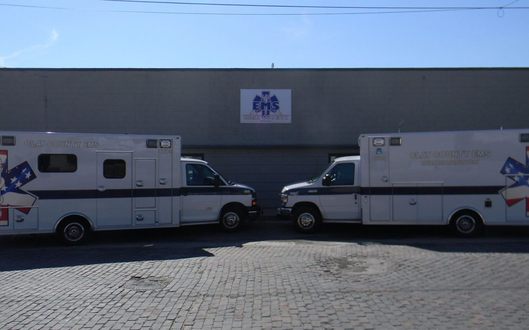 Clay County EMS Ambulances Equipped With Portable Ventilators