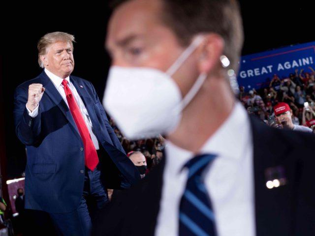 Donald Trump in Georgia: 'Lock Up the Bidens'