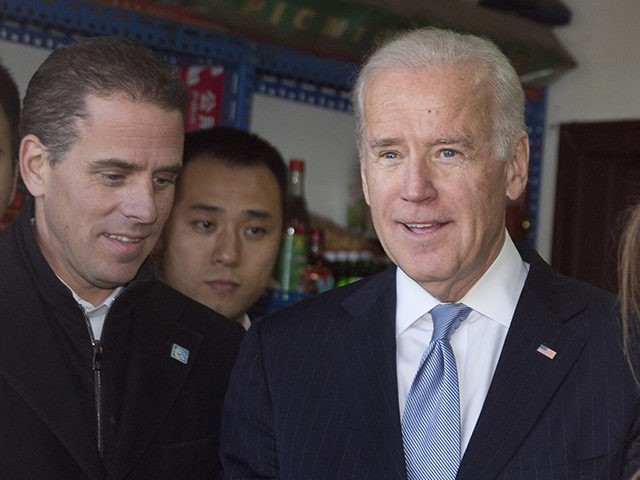 Congressman: FBI Must Launch 'Criminal Investigation' into Biden Family