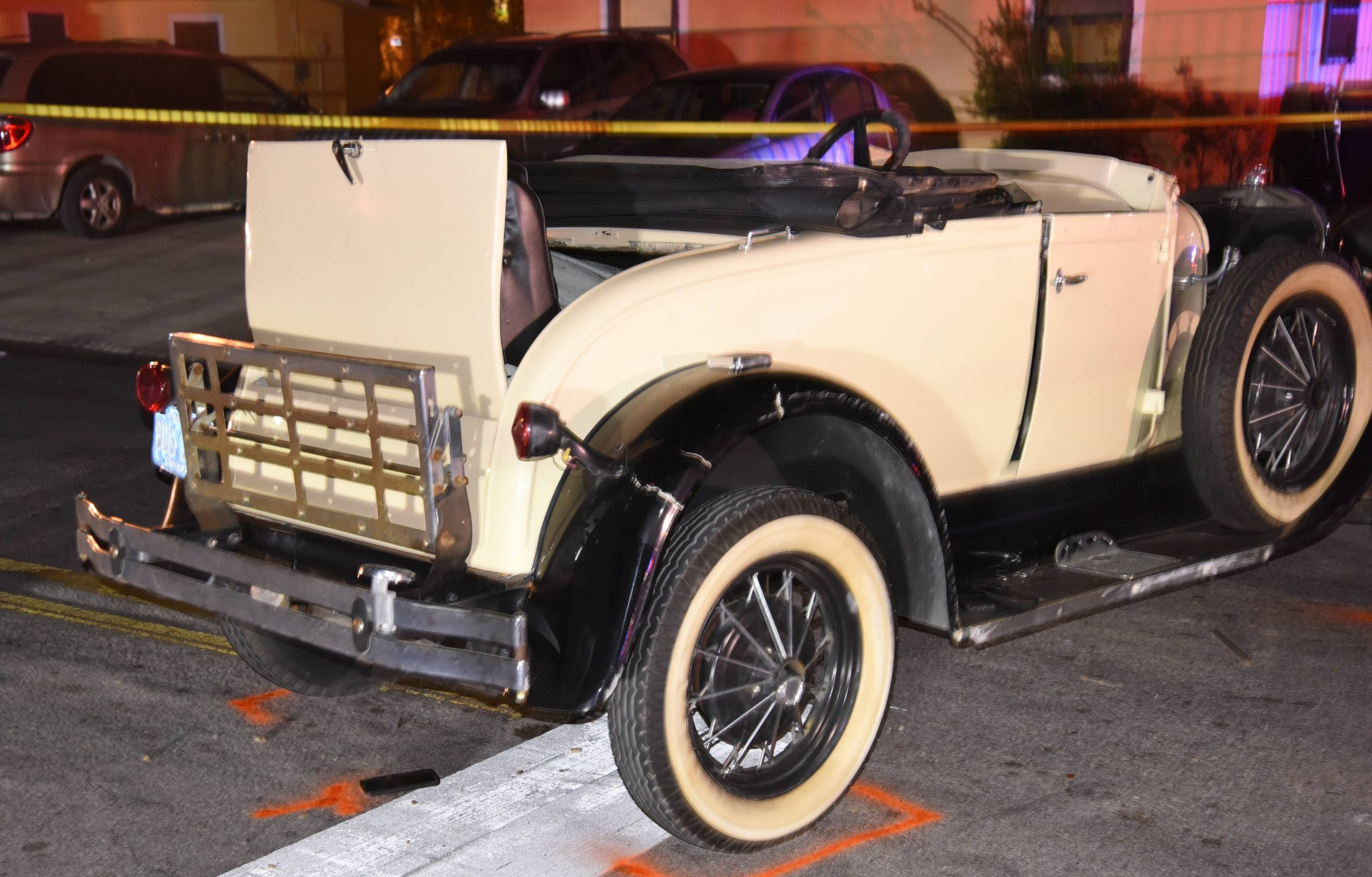 Model-Aa-scaled Replica Antique Car Rolls Over, Seven Ejected Featured Top Stories [your]NEWS