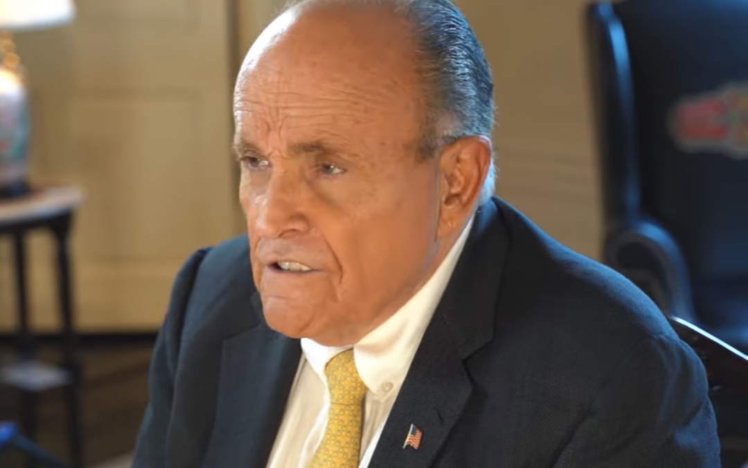 Rudy Giuliani: Hunter Biden 'Belongs In Prison' For Violating Foreign Agents Law
