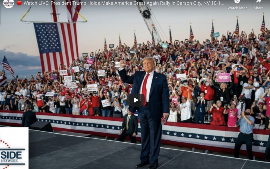 President Trump Holds Make America Great Again Rally in Carson City, NV October 18, 2020