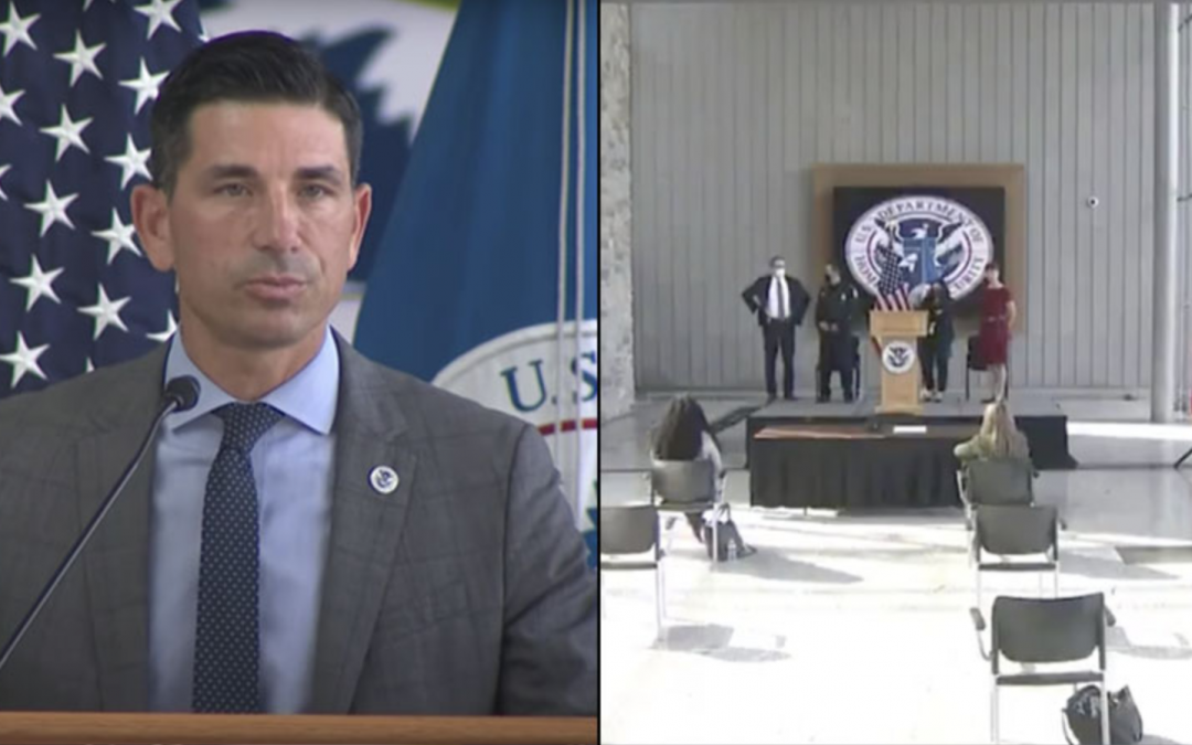 DHS Unveils First-Ever Anti-Human Trafficking Command Center — Crickets From Reporters!