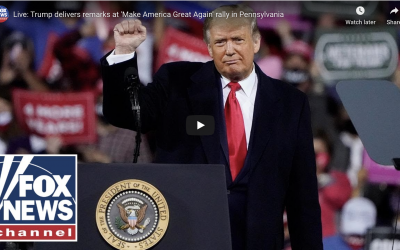 Trump 'Make America Great Again' rally Erie, Pennsylvania October 20, 2020
