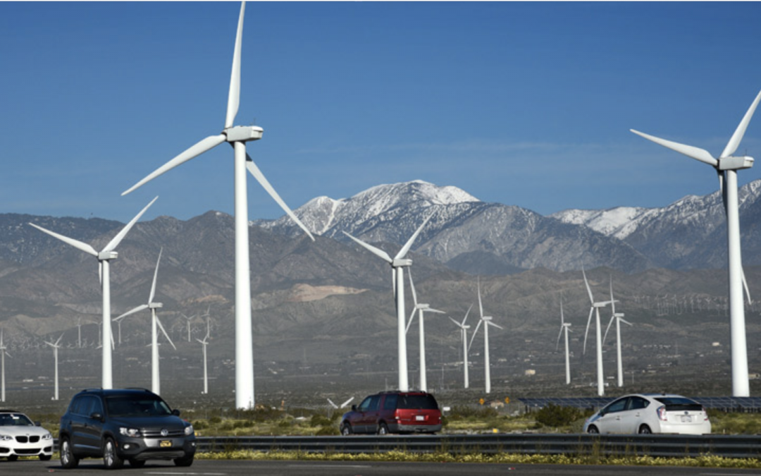 """""""Eco-Friendly"""" Wind Turbines Piling Up At Landfills"""