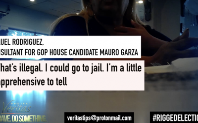 """I Could Go To Jail"": Texas ""Ballot Chaser"" Illegally Pressures Voters To Change Votes To Democrat"