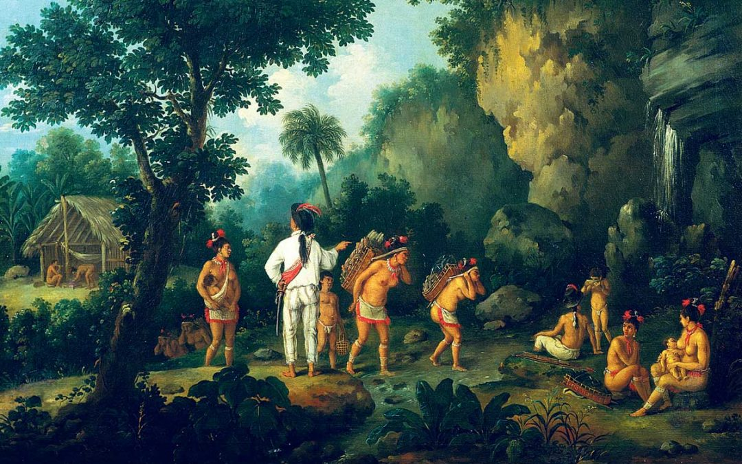 Native American tribes kept human SLAVES, which means People of Color were slave masters even BEFORE the founding of America