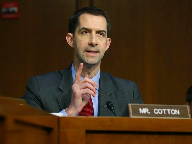 Tom Cotton to Big Tech After Censorship of Biden-Burisma Report: 'Winter Is Coming'