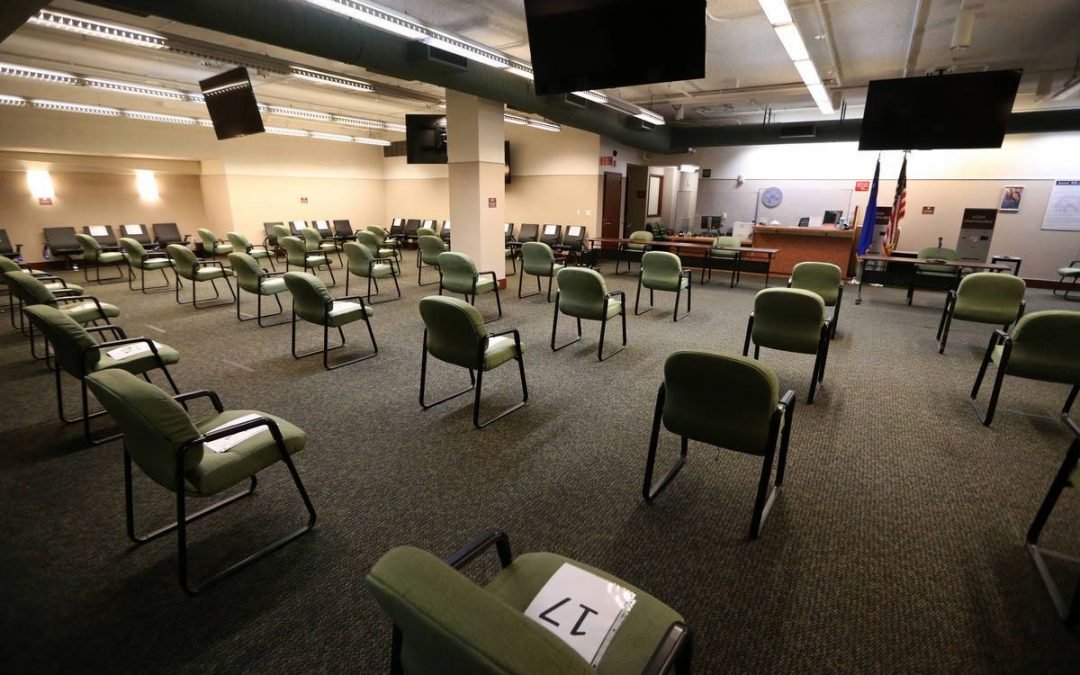 Clark County halts most in-person court hearings