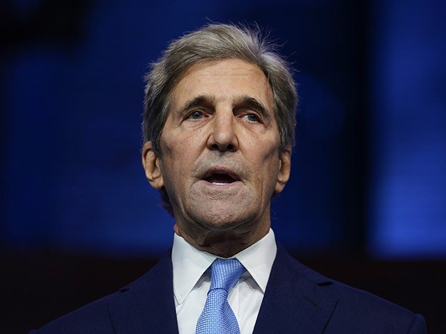 John Kerry: Paris Climate Accord 'Is Not Enough' for Biden Climate Plan