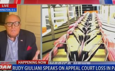 """The Democrats Are Lying. I Don't Know About the Judges"" – Rudy Giuliani Discusses Friday' Response from Third Circuit Court of Appeals (Video)"