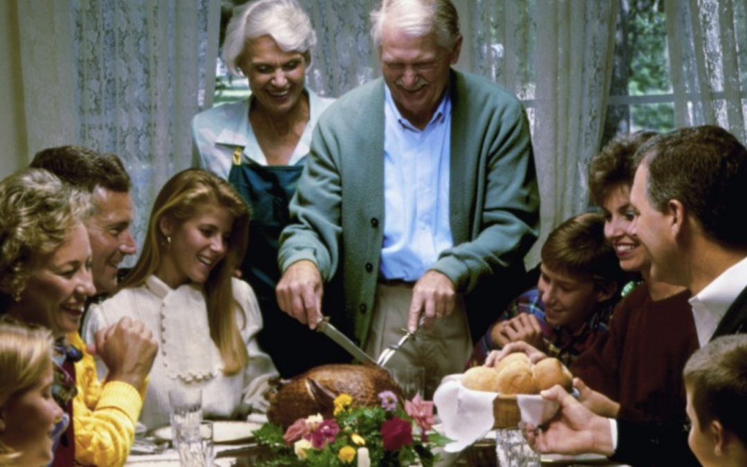 COVID 1984: CDC Tells Americans to Avoid Alcohol and Singing During Thanksgiving Gatherings