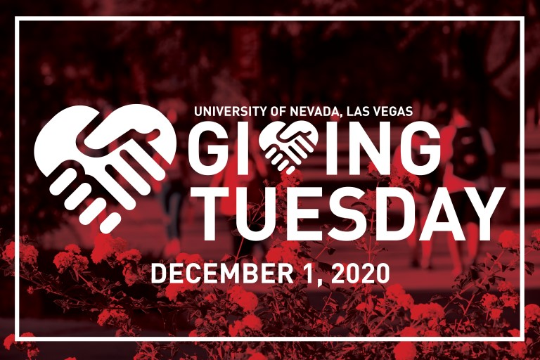 Support UNLV Through Giving Tuesday on Dec. 1