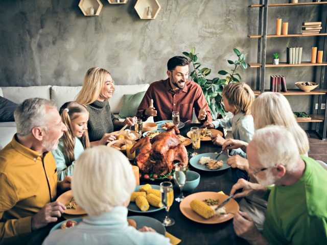 Poll: Majority of Americans Will Spend Thanksgiving with Their Families Despite Pandemic