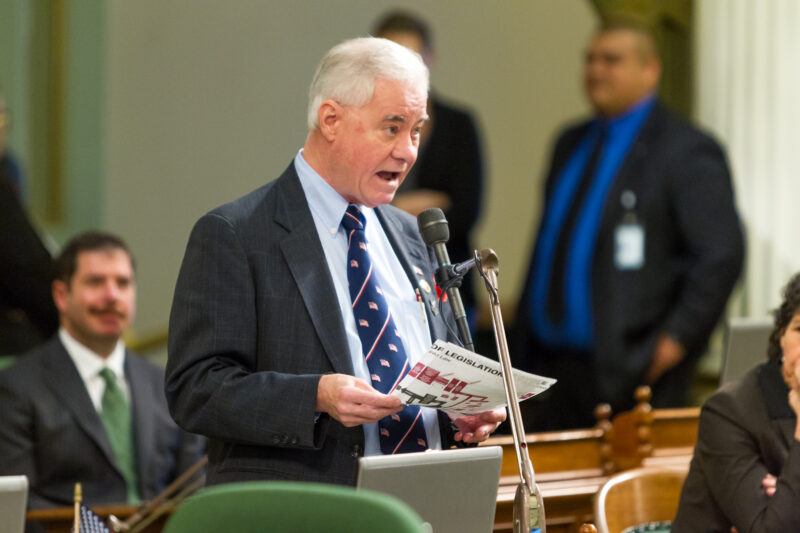 03-02-17-Voepel-AIM-during-Session-144-800x533-2 Sacramento Report: Voepel Under Fire for 'Shots Fired' Remarks Featured Politics Top Stories [your]NEWS
