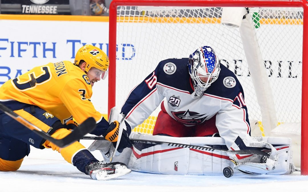 Predators pull out opening win over Blue Jackets