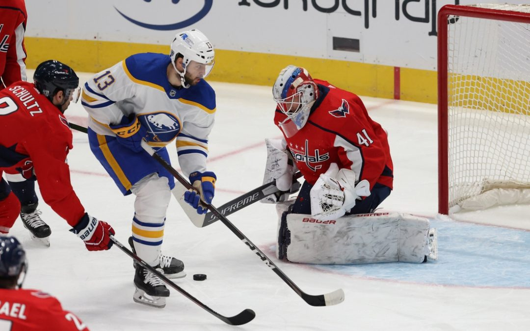 Sabres slip past Capitals in shootout