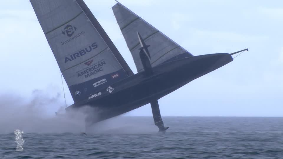 Sailing: American Magic's 'Patriot' back on water with special tribute