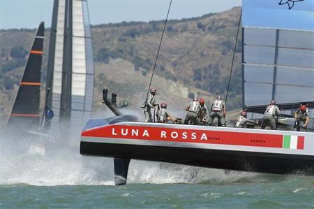 Sailing: Luna Rossa take 2-0 lead over American Magic in Challenger semis