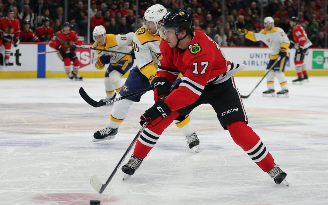 Dylan Strome signs two-year deal with Blackhawks