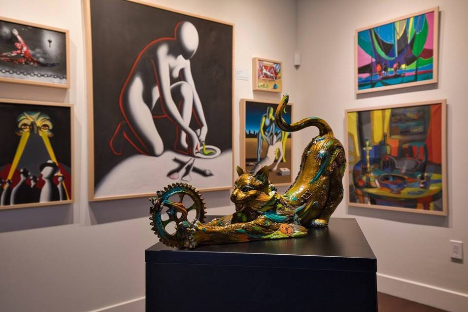 Luxe new art gallery and museum opens in Vegas