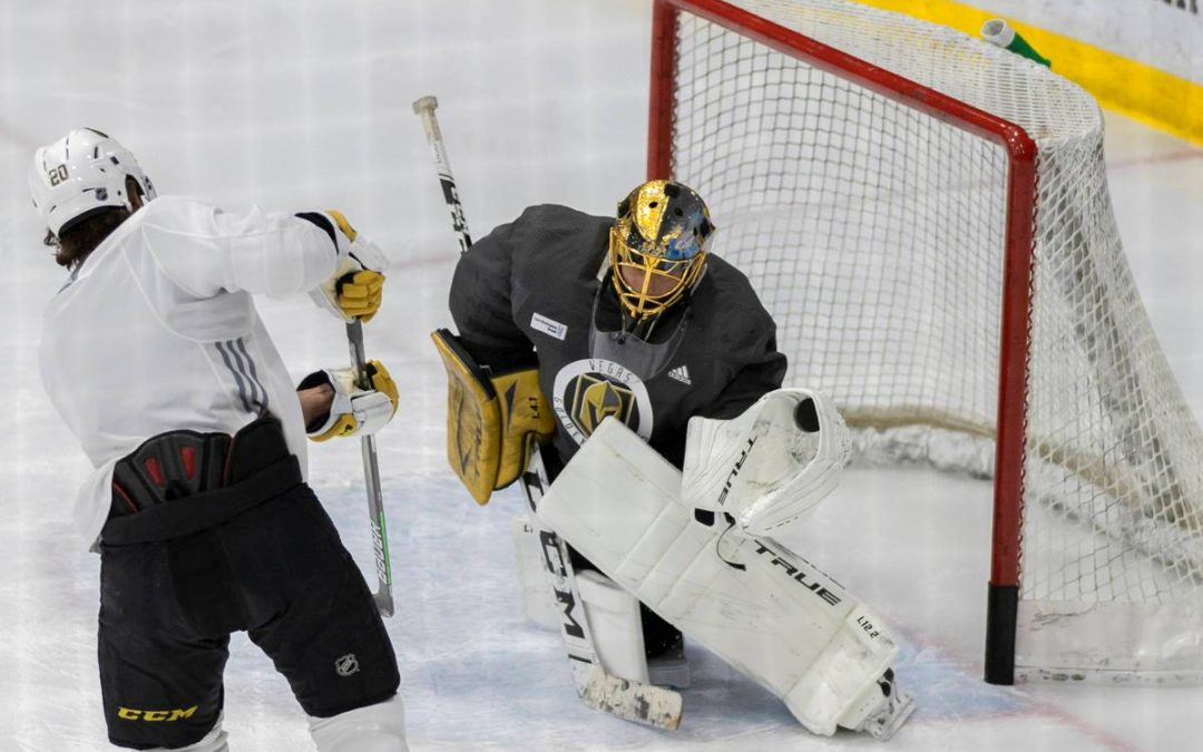 Golden Knights embrace expectations as Stanley Cup favorites