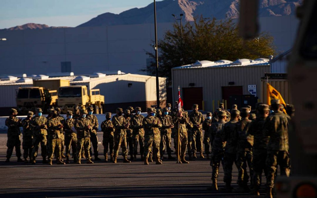 Nevada National Guard prepares for mission in Washington, D.C.