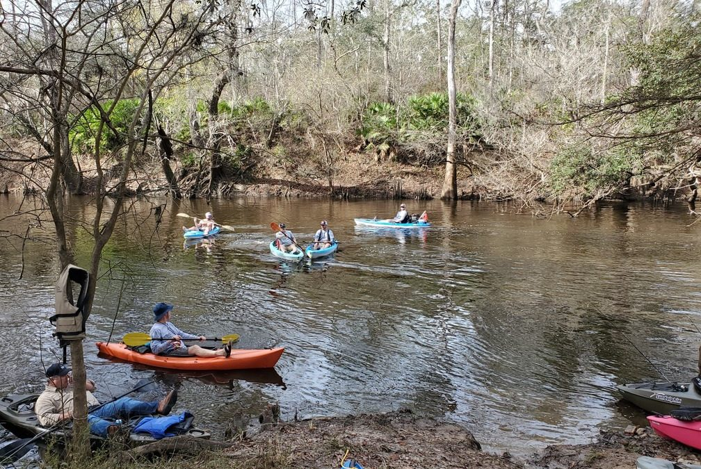 Mayor's Paddle, Withlacoochee River, Troupville to Spook Bridge