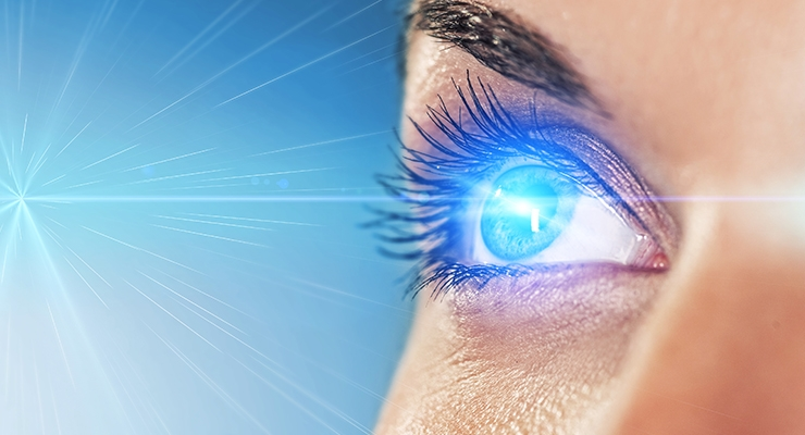 Blue light found to accelerate aging and damage retinal cells