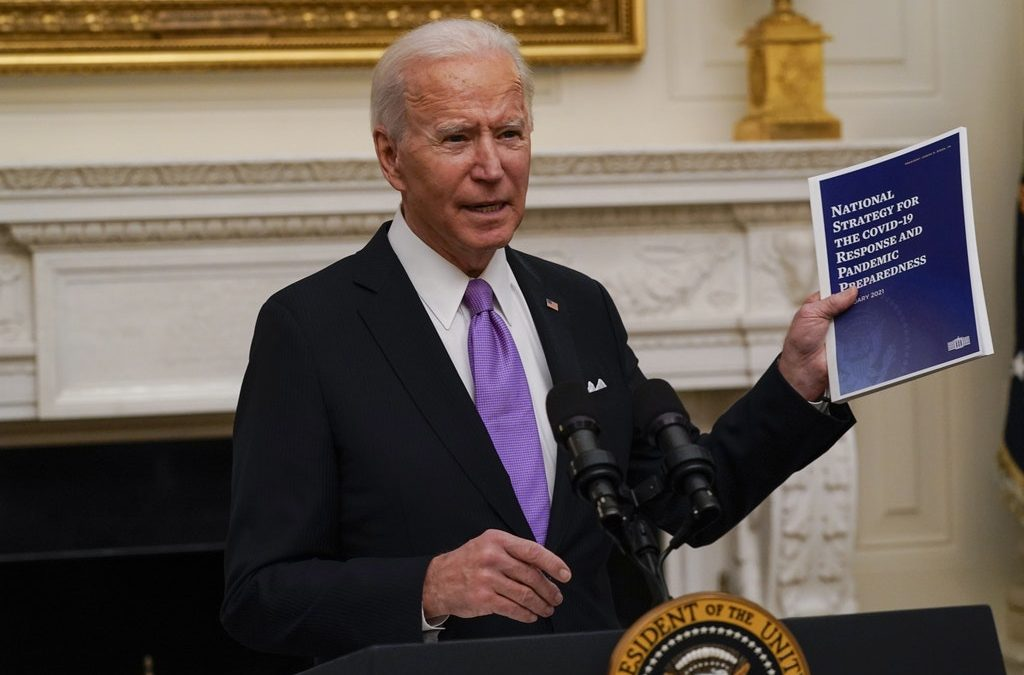 Biden Dismisses Question on Whether Vaccine Goal Is Improvement: 'Come on, Give Me a Break'