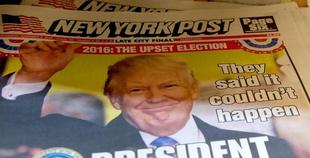 NY Post Reportedly Enacts New Rule Barring Reporters From Solely Relying On Reports From CNN, MSNBC, WaPo And NYT