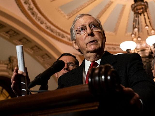 Report: Senate Republicans Warn McConnell Ahead of Impeachment Trial