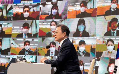Moon Urges Biden to Learn From Trump's N. Korea Diplomacy