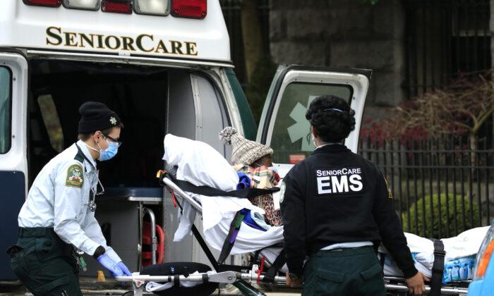 COVID-19 Deaths Surge in New York Nursing Homes