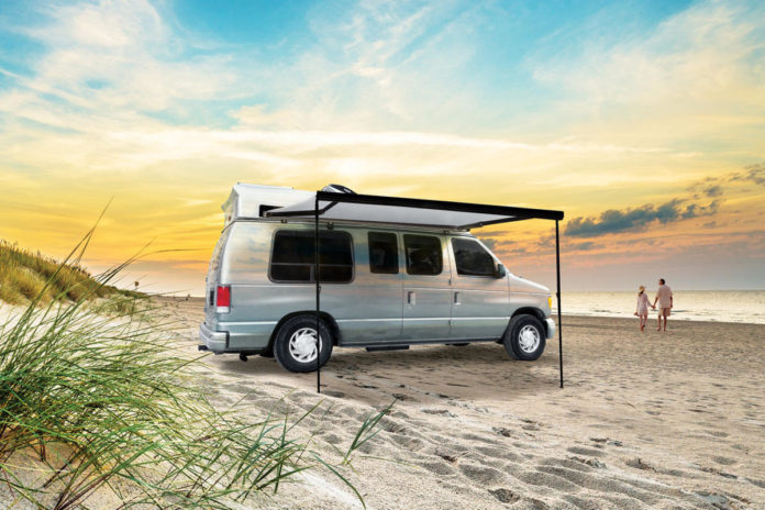 Aftermarket awnings available for smaller RVs