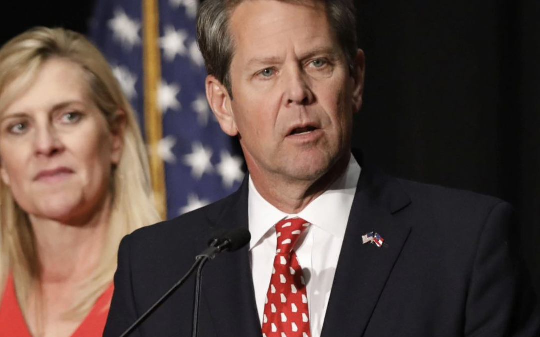 """Brian Kemp Calls George Floyd Riots """"Peaceful Protests,"""" Says He Was Proud to Support Them"""