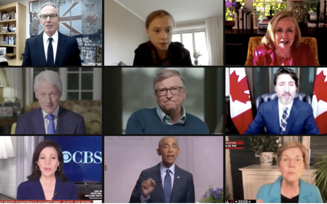 "Video: Creepy Compilation of World Leaders Promoting ""Build Back Better"" Global Reset Mantra"