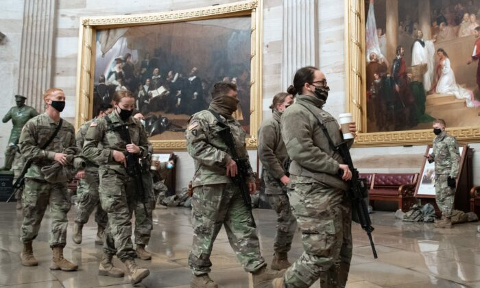 Up to 25,000 National Guard in DC for Inauguration: US Army
