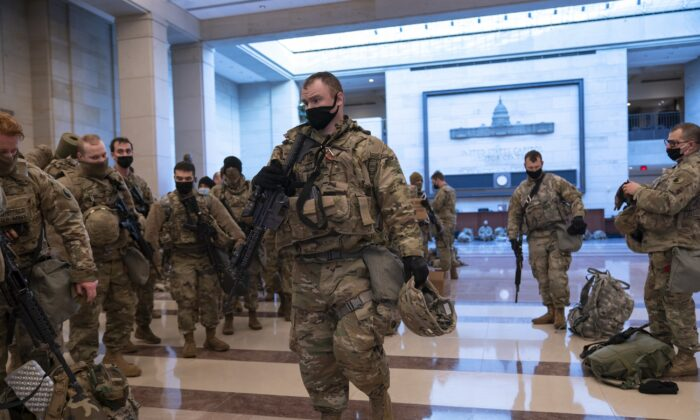 Approximately 20,000 National Guard Members Stationed Around DC: Officials