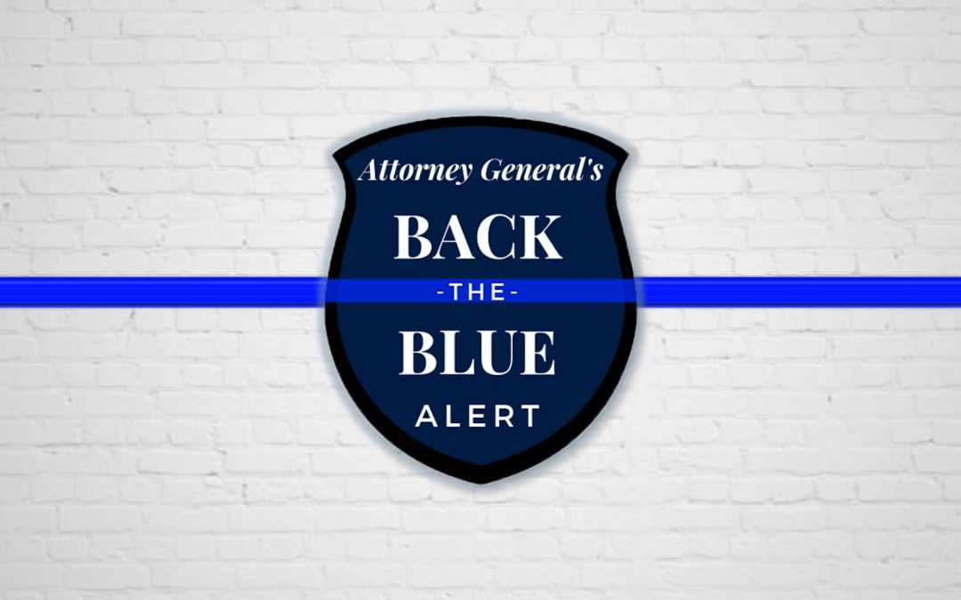 Attorney General Backs the Blue
