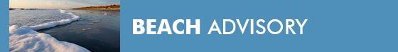Beach Advisory Issued for Middle Beach on Jekyll Island