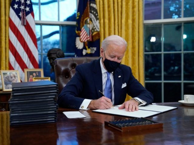 Biden Kills Up to 70,000 Jobs on First Day in Office